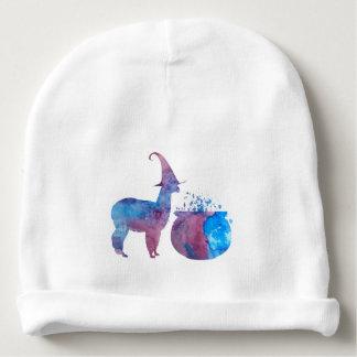 Lama effrayant de sorcière bonnet de bébé