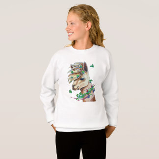 lama gai de ressort sweatshirt