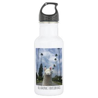 Lama sans la bouteille d'eau de LA de drame