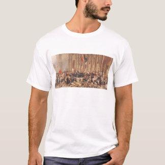 Lamartine rejette le drapeau rouge en 1848 t-shirt