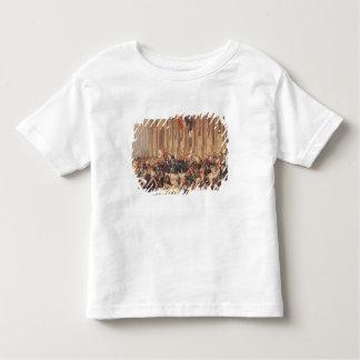Lamartine rejette le drapeau rouge en 1848 t-shirt pour les tous petits
