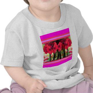 L'amaryllis rouge fleurit des cadeaux par Sharles T-shirt