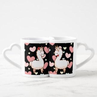 Lamas d'amour mug