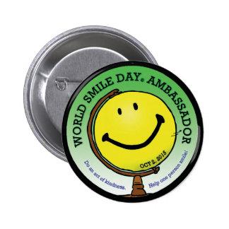 L'Ambassadeur 2015 de Day® de sourire du monde Pin's
