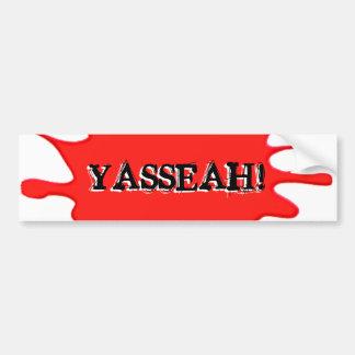 Lambeaux : Adhésif pour pare-chocs officiel de YAS Autocollant Pour Voiture