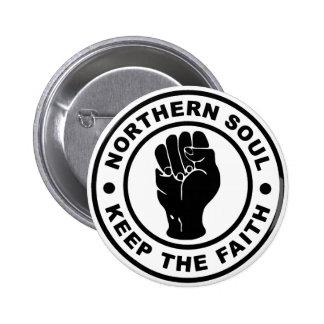 L'âme du nord gardent la foi pin's