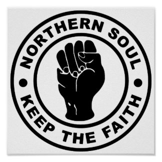 L'âme du nord gardent la foi poster