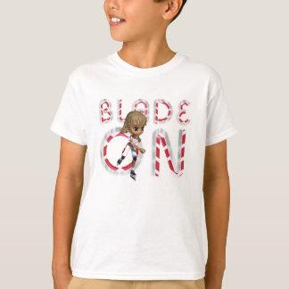 Lame SUPÉRIEURE dessus T-shirt