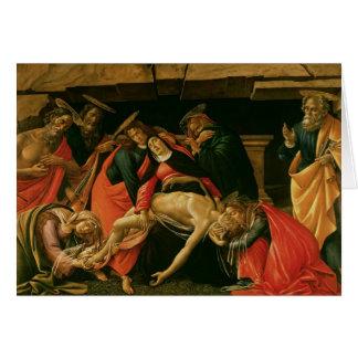 Lamentation du Christ. c.1490 Cartes