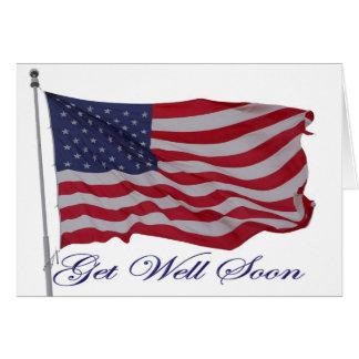 L'Américain patriote obtiennent la carte bonne