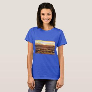 L'Amérique des femmes le beau T-shirt de base