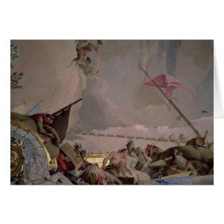 L'Amérique, détail de la gloire de l'Espagne II Carte De Vœux
