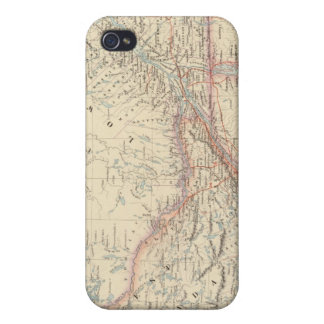 L'Amérique du Nord britannique 2 iPhone 4 Case