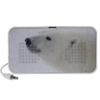 L'Amérique du Nord, Canada, Manitoba, Churchill. 6 Haut-parleurs iPod