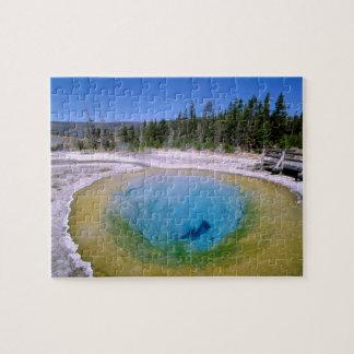 L'Amérique du Nord, Etats-Unis, Wyoming, Yellowsto Puzzle