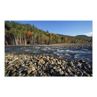L'Amérique du Nord, USA, NH, plage de pavé d'A sur Impressions Photographiques
