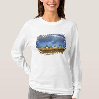 L'Amérique du Sud, Chili, île de Pâques. Le plein T-shirt