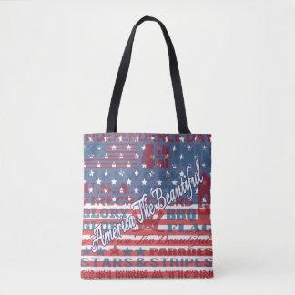 L'Amérique patriotique le beau Jour de la Sac