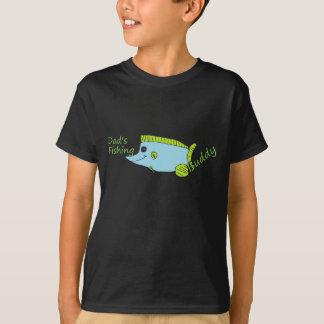 L'ami de la pêche du papa badine la chemise t-shirt