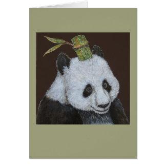 L'AMI la carte de voeux de panda