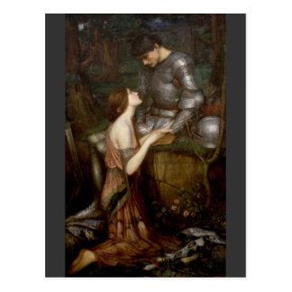 Lamia par John William Waterhouse Cartes Postales