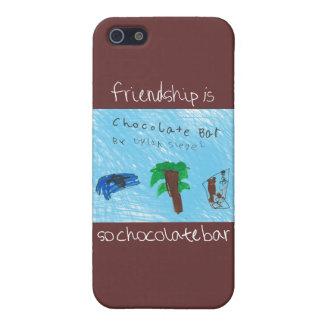 L'amitié couverture de l'iPhone 5 de barre est ain Étuis iPhone 5