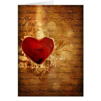 L'amour conquiert tous cartes