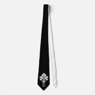 L'amour conquiert tous (noir-blanc) cravates