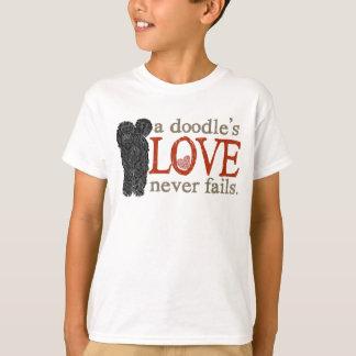 L'amour de griffonnage n'échoue jamais - t-shirt