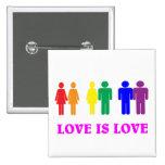 L'amour de LGBT est amour Badge