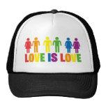 L'amour est amour casquettes de camionneur