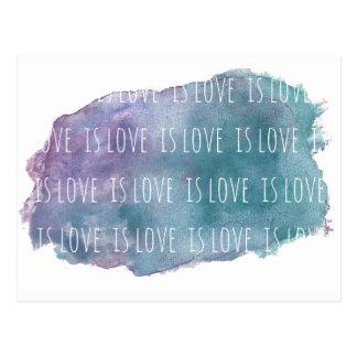 l'amour est amour est carte postale d'amour