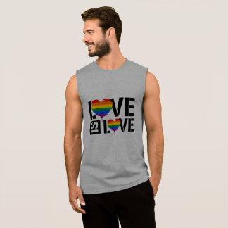 L'AMOUR EST AMOUR - PEINTURE de LGBTQ - - les T-shirt Sans Manches