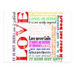 L'amour est… cartes postales