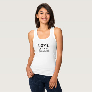 L'amour est débardeur d'amour
