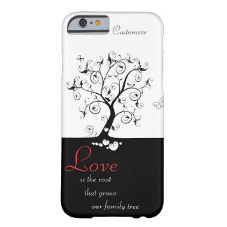 L'amour est la racine coque iPhone 6 barely there