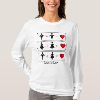 L'amour est l'amour (LGBTQ) T-shirt