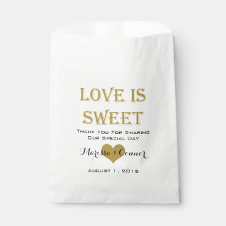 L'amour est les sacs doux de mariage de noir et
