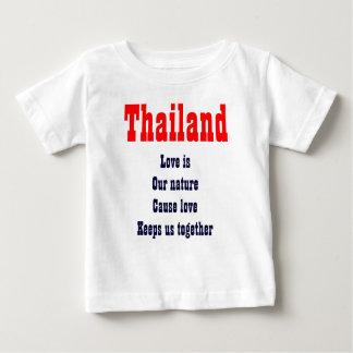 l'amour est nos T-shirts de la Thaïlande de nature