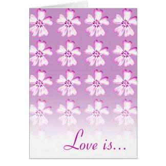 L'amour est patient, amour est aimable…. - Carte -