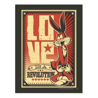 L'amour est une révolution carte postale