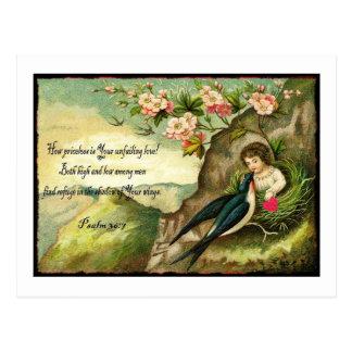 L'amour inébranlable Valentine de Dieu Cartes Postales