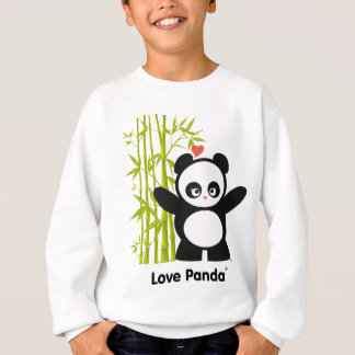 L'amour Panda® badine le sweatshirt