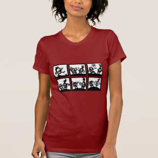 l'amour rend aveugle t-shirt