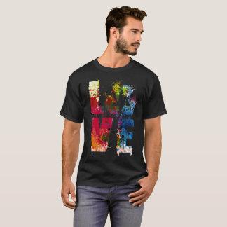 L'amour réutilisent réduisent la chemise 2017 de t-shirt