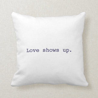 L'amour révèle le coussin