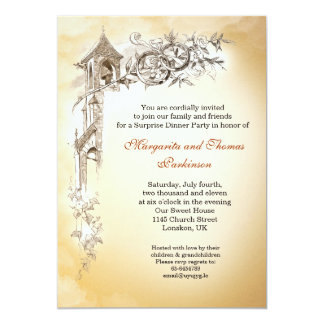l'amour sonne les invitations vintages