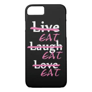 l'amour vivant de rire mangent le coque iphone coque iPhone 7