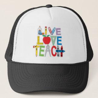 L'amour vivant enseignent casquette