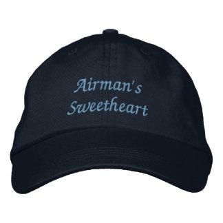 L'amoureux de l'aviateur casquette de baseball brodée